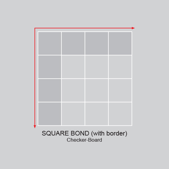 Square Bond Border