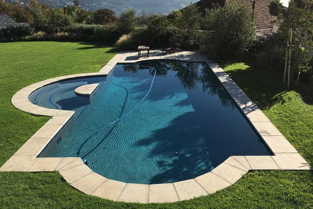 roman pool coping